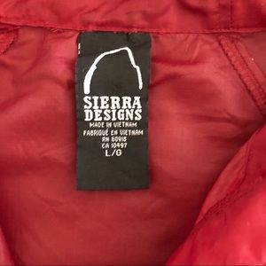 Sierra Designs Jackets & Coats - Sierra Designs Shell Jacket
